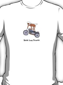 Sloth Love Stunts T-Shirt