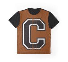 Big Varsity Letter C Graphic T-Shirt