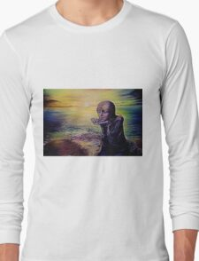 Moon Child on an Alien Planet Long Sleeve T-Shirt