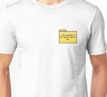 Programming in Pearl - Geek Cards Unisex T-Shirt
