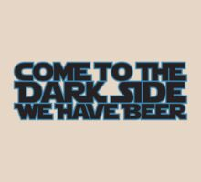 Come to the dark side we have beer (blue black) by hardwear