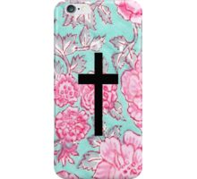 Floral Cross iPhone Case/Skin