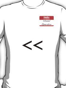 Shovel Operator T-Shirt