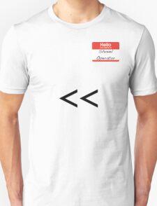Shovel Operator Unisex T-Shirt