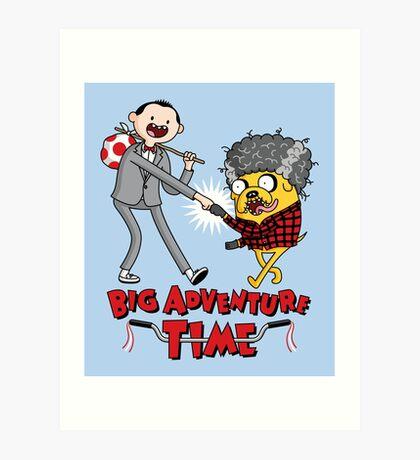 Big Adventure Time Art Print