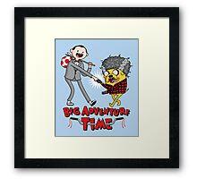 Big Adventure Time Framed Print