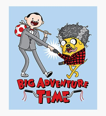 Big Adventure Time Photographic Print