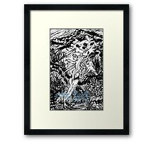 oh!  hello Framed Print