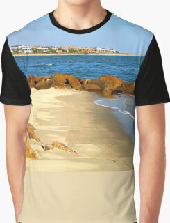 Rocky Beach by Jan Marvin Graphic T-Shirt