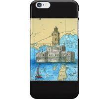 Lansing Shoals Lighthouse MI Chart Cathy Peek iPhone Case/Skin
