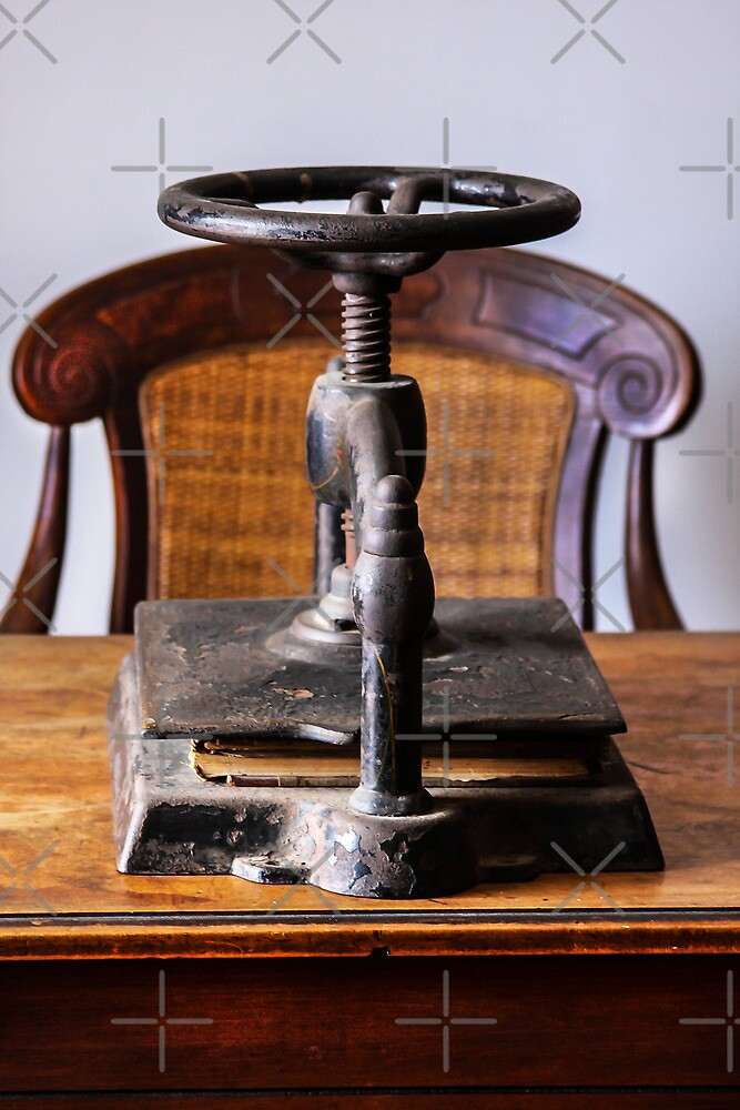Olde Binding Press by Heather Friedman