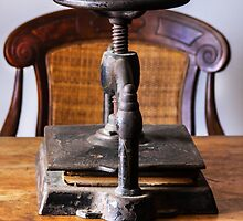 Olde Binding Press by heatherfriedman