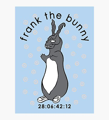 Don't Pat the Bunny Photographic Print