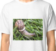 Morning Snail Classic T-Shirt