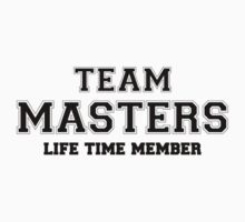 Team MASTERS, life time member Kids Clothes