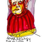 'O'Farrell Depicted By Untrained Artist by ellejayerose