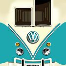 NEW Blue Volkswagen VW with chrome logo iphone 5, iphone 4 4s, iPhone 3Gs, iPod Touch 4g case, Available for T-Shirt man, woman and Kids by Pointsale store.com