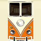 Orange Volkswagen VW cartoons iphone 5, iphone 4 4s, iPhone 3Gs, iPod Touch 4g case by pointsalestore Corps