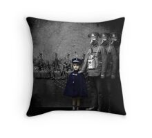 only the children weep Throw Pillow