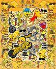 Gold Rush (iPad & iPhone) by CharmerPantsOff