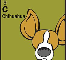Chihuahua - The Dog Table by Angry Squirrel Studio
