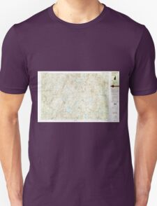 USGS TOPO Map New Hampshire NH Lovewell Mountain 329898 1984 25000 T-Shirt