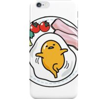 Lazy Egg - Gudetama 4!!! iPhone Case/Skin