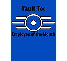 Vault-Tec Employee of the Month Photographic Print