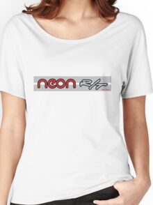 Neon R/T Red Women's Relaxed Fit T-Shirt