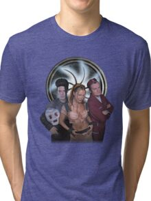 Lexx Cast Season 3. #1 Tri-blend T-Shirt