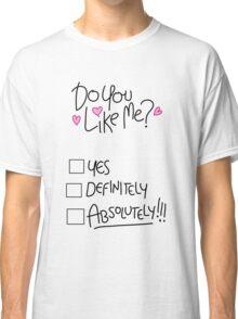 I Rigged it.  Classic T-Shirt