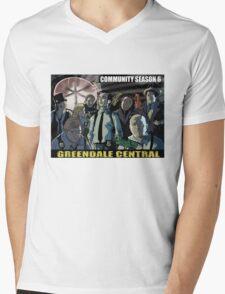 Greendale Central Mens V-Neck T-Shirt