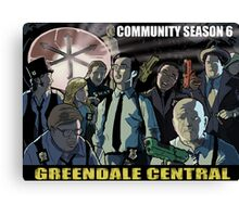 Greendale Central Canvas Print