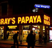 Gray's Papaya by Laura Stanley