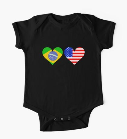 Made In America With Brazilian Parts One Piece - Short Sleeve