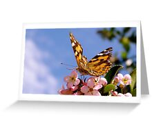 Vanessa the Butterfly Greeting Card