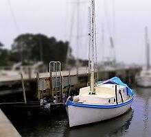 Wynyard Wharf in minature by Michelle Ricketts
