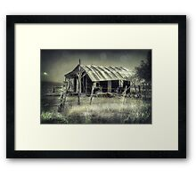 Fully Air-conditioned.. Framed Print