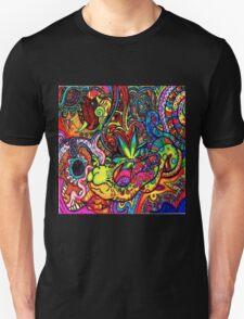 Trippy Zentangle Design T-Shirt
