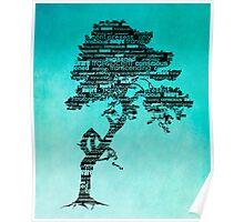Bodhi Tree of Awareness Poster