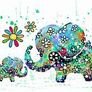 blooming elephants by © Karin (Cassidy) Taylor