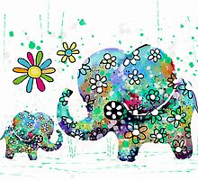 blooming elephants by © Karin  Taylor