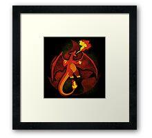 Fire Charizard Framed Print