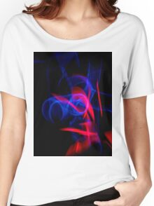 ©NLE Red Blue I Women's Relaxed Fit T-Shirt