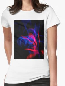 ©NLE Red Blue I Womens Fitted T-Shirt