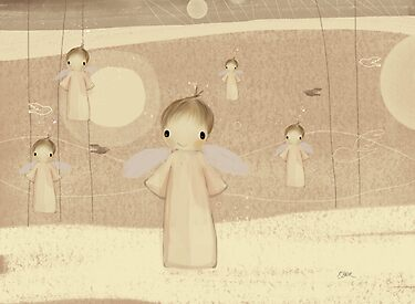 choir of angels by Karin  Taylor