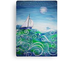 Sailing by Jan Marvin Canvas Print