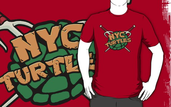 New York City Turtles - Raph by goldenote