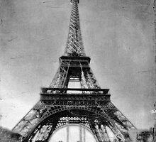 Vintage Eiffel Tower by Karen Lewis