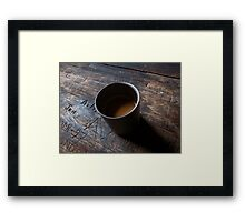 Kafes Anywhere Framed Print